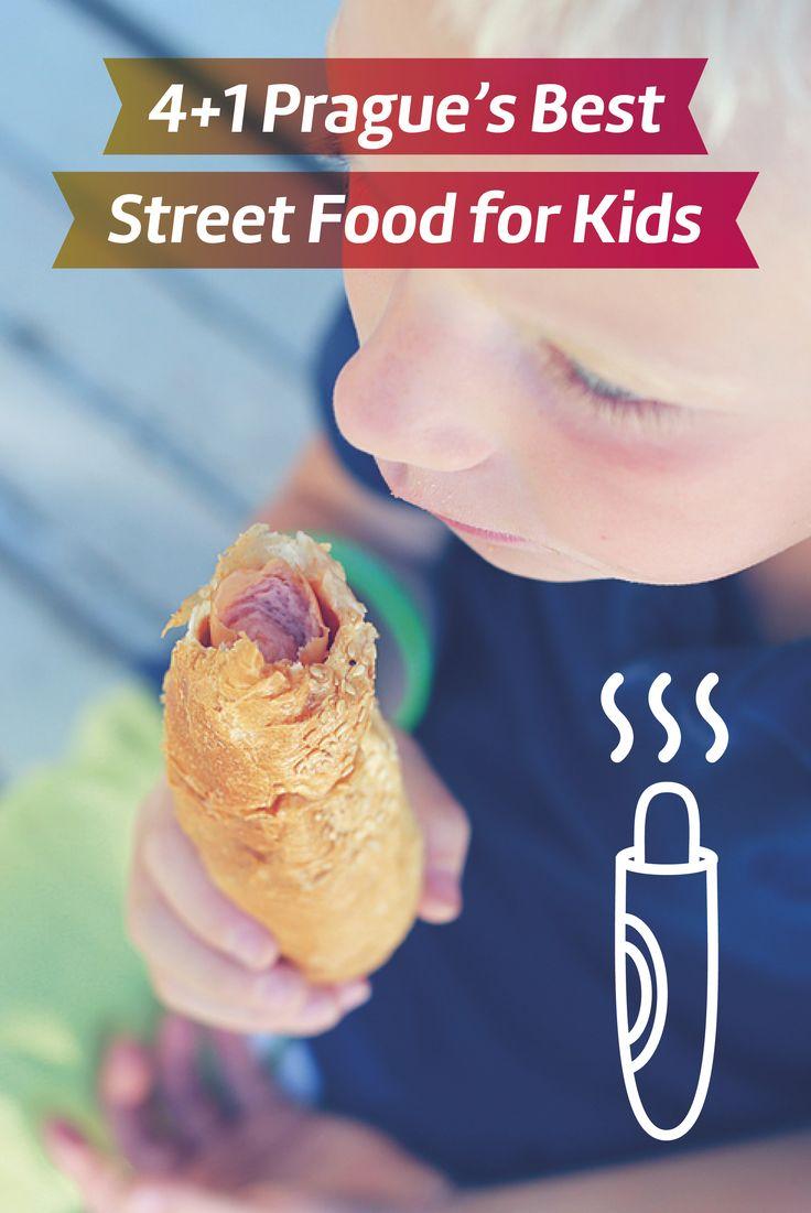 Prague with Kids I Prague food I Food for Kids in Prague I Trdelnik Prague