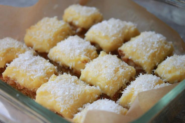 Lemon Bars (Paleo) THE BEST PALEO DESSERT OF ALL TIME! I seriously love these! I would use this crust for other things too, it was great!