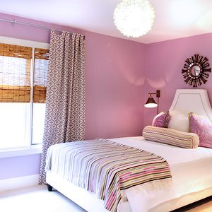 Lavender Teen Bedroom, Contemporary, girl's room, Lucy and Company