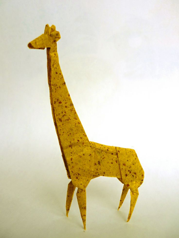Origami giraffe | Giraffes | Pinterest - photo#12