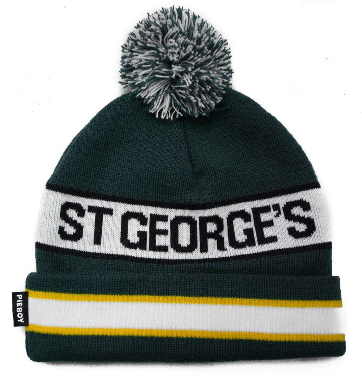 University Bobble Beanie Hat   PIEBOY®  #St.Georges #University #PIEBOY #Varsity #Bobble #Beanie #Hat  www.pieboyclothing.co.uk
