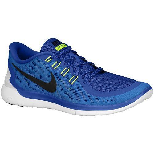 Nike Free 5.0 Poinçon Hyper Noir Bleu Royal Des Hommes De Remise En Forme