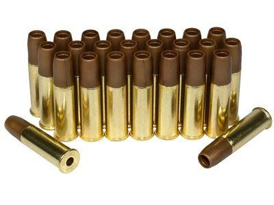 Dan Wesson ASG 6mm Airsoft Revolver Shells, 25ct by Dan Wesson. Save 20 Off!. $39.95. Airsoft revolver shells 6mm 25ct  If you're using a revolver as a sidearm for airsoft skirmishes you'll need spare shells for fast reloading in the battlefield. These spare shells fit the Dan Wesson airsoft revolvers exclusively. Each package contains 25 shells.