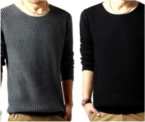 Men's knitwear sweater for just $24 from #ikoala #shopping #deal. Enjoy the perfect combination of the very best things in life!