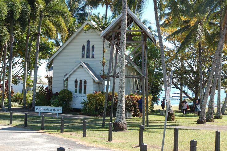 Port Douglas QLD Australia  St Mary's by the sea