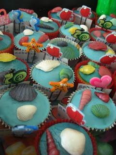 Jennys taarten: Zeemeermin feest