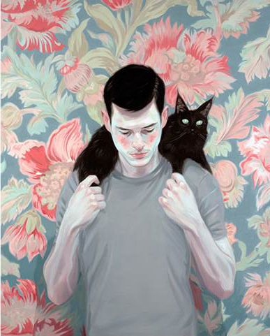 In love with this piece by #Toronto #artist Kris Knight!