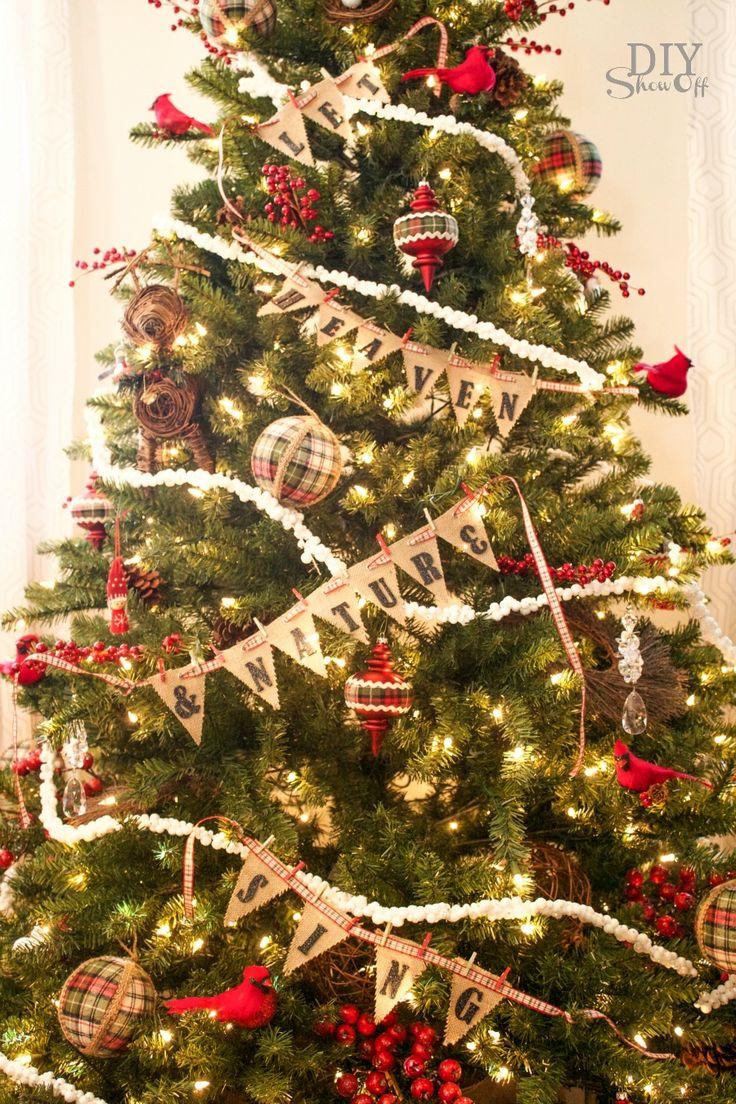 Plaid Christmas Tree 25 Best Holidays Christmas Decor Buffalo Plaid Images On