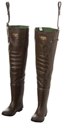 RedHead Bone-Dry Rubber Boot-Foot Hip Waders - Ladies 6/Youth 4