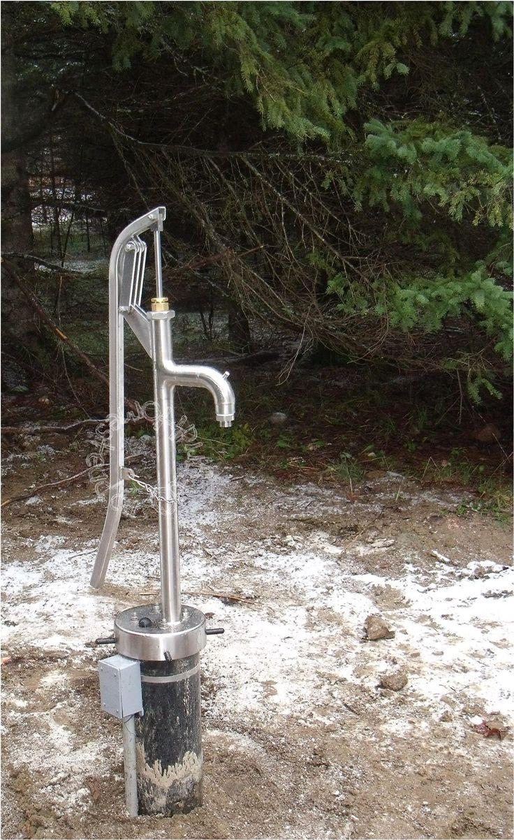 Manual Well Pump Installed (Off grid journey cont'd..) - http://bisonpumps.com/