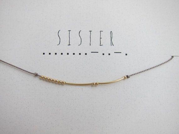sister in morse code - Google Search