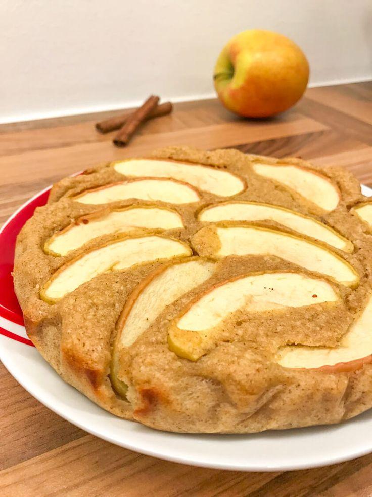 Ein schneller Apfelkuchen, der gesund, saftig und einfach ist. Hier finden Sie die …   – Bakery