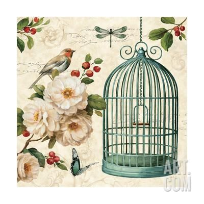 Free as a Bird I Art Print by Lisa Audit at Art.com