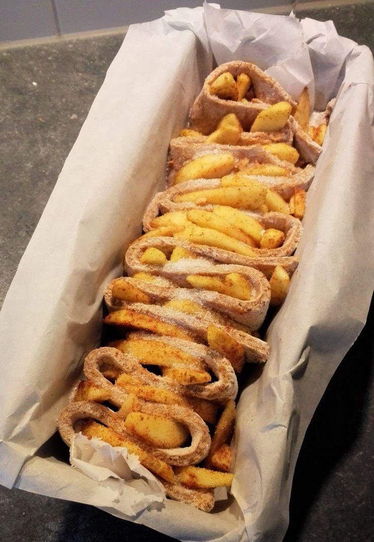 Maak nu zelf een heerlijk gezond volkoren appelbrood met dit recept. Het appelbrood staat in iets meer dan anderhalf uur (incl. rijzen!) op tafel!