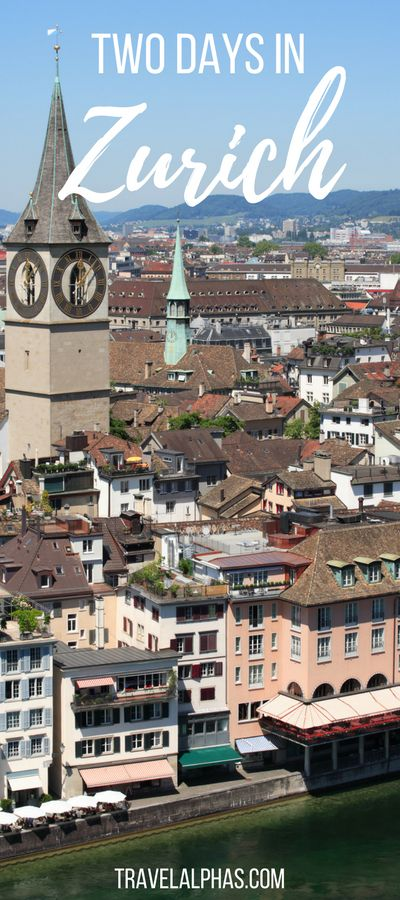Are you looking for some Switzerland travel inspiration? Here is our guide to spending two days in the beautiful city of Zurich, Switzerland. Happy wanderlusting!