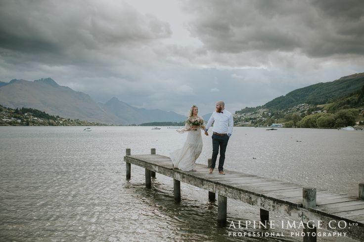 Stunning Boho wedding in Queenstown New Zealand. Photography by Alpine Image Company