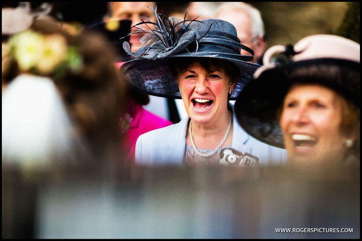 I love hats at weddings -