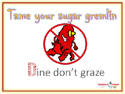 Dine don't graze