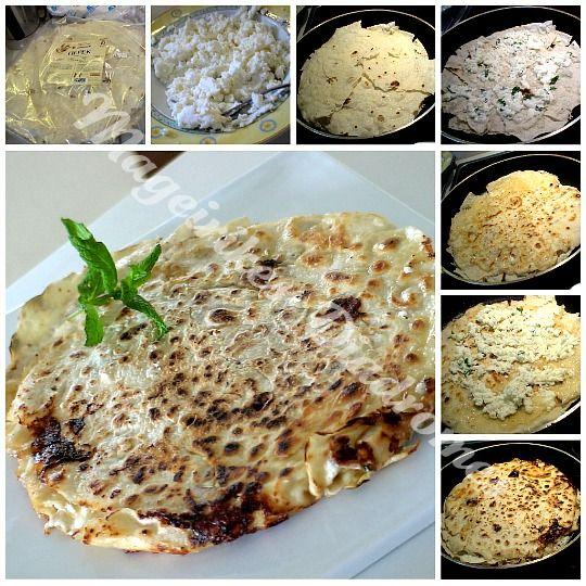 Τυρόπιτα στο τηγάνι με ποντιακά φυλλωτά
