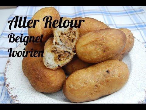 Recette aller retour au thon (beignet ivoirien) - YouTube