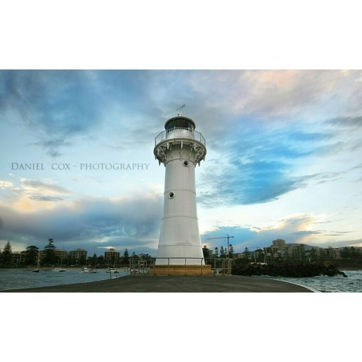 Wollongong's old heritage lighthouse.