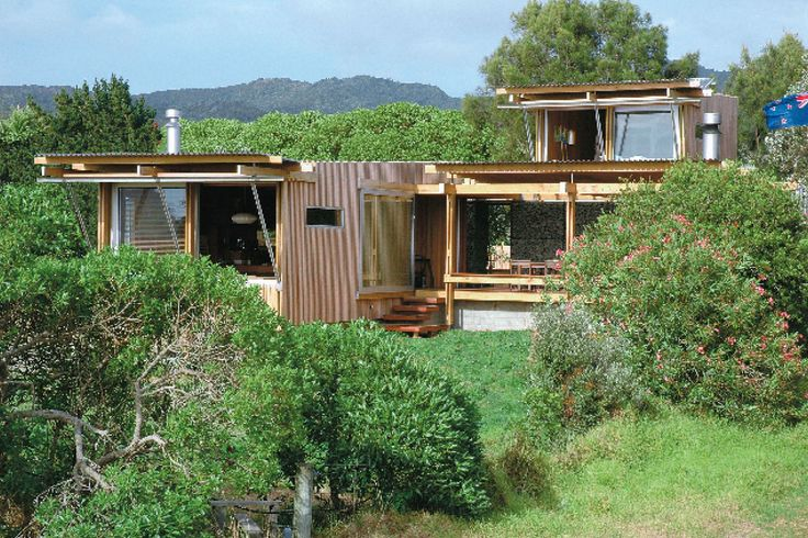 Lindale Bach, Great Barrier Island, Auckland, Herbst Architects.