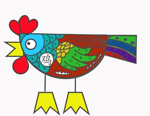 Chinese New Year Rooster Crafts