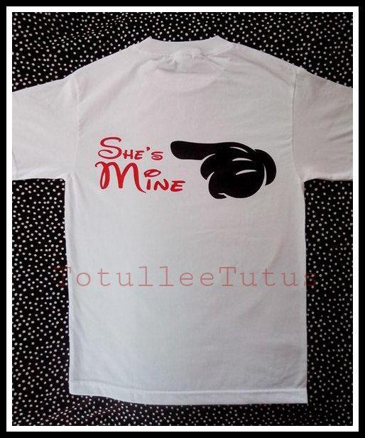 Disney 2 Sided Couples Shirts Soul Mate Disney by TotulleeTutus   30    Disney Soul Mate Shirts