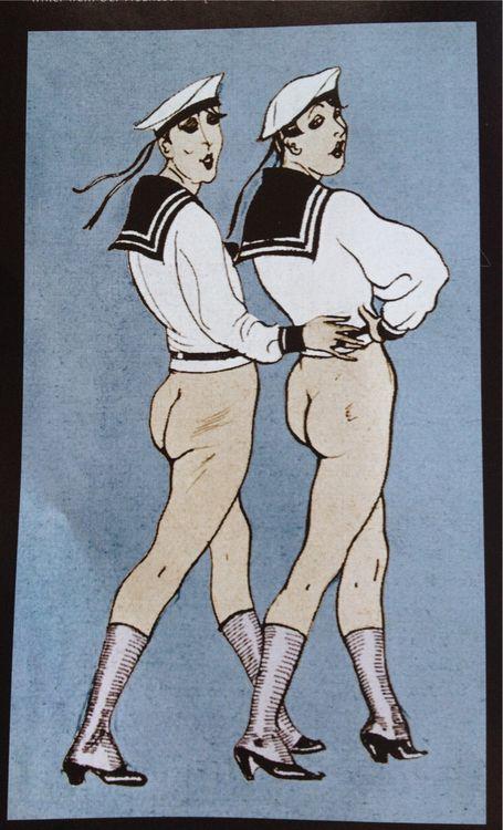 Berlin cabaret poster, 1920s.