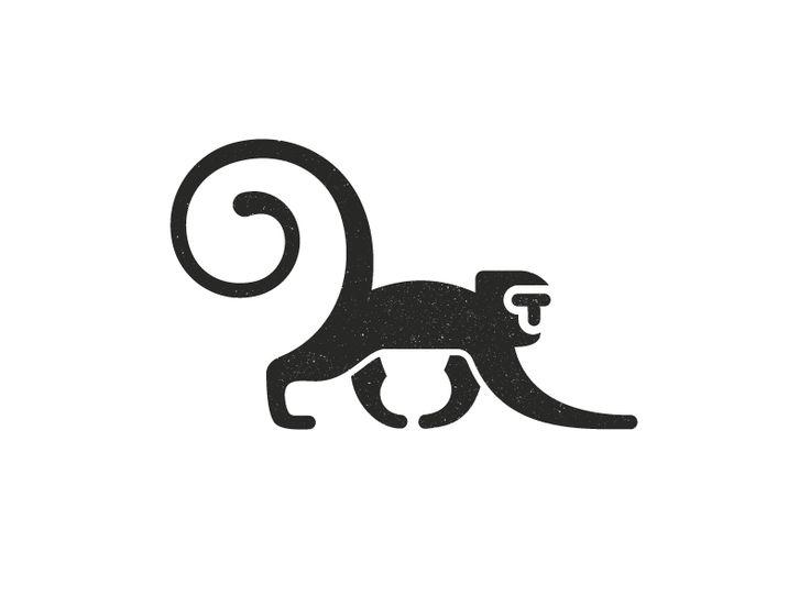 T Monkey 1 by Stevan Rodic #Design Popular #Dribbble #shots
