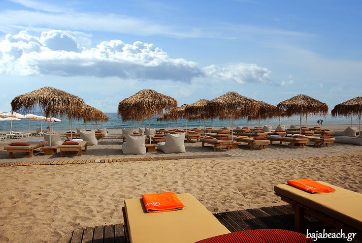 Enjoy your day at Baja Beach Club, Platanias Beach #Rethymno - #Crete!