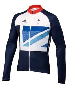 Olympic 2012 Team GB Cycling Long Sleeve Jersey Size Small
