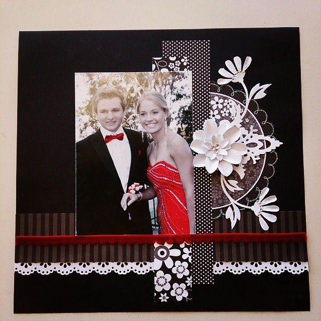kerrie gurney [it's all about ME]: NSD10K 2014 Layouts | #couturecreationsaus #decorativedies #doodlebug #marthastewart #punches #formal #blackwhite