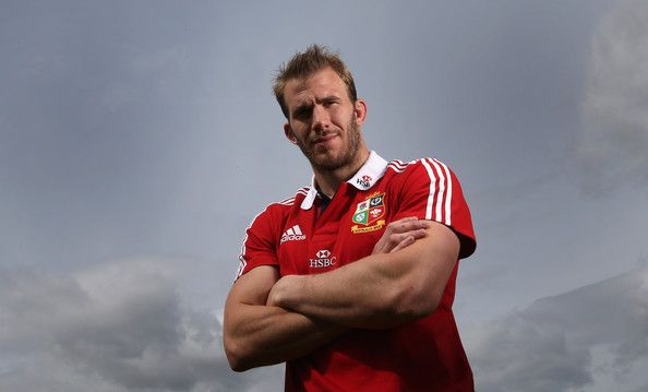 Tom Croft poses during the British and Irish Lions media day at Syon Park on May 13, 2013 in London, England.
