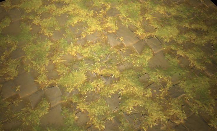 ArtStation - Stylized stone floor - Substance Designer, Hugo Beyer