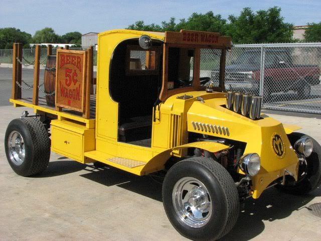 C Cab beer wagon