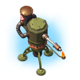 Boom Beach Flamethrower