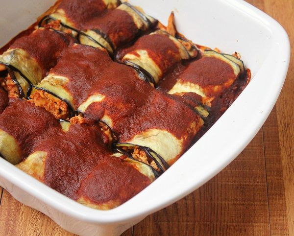 Chicken fajita rolls #lowcarb #paleo