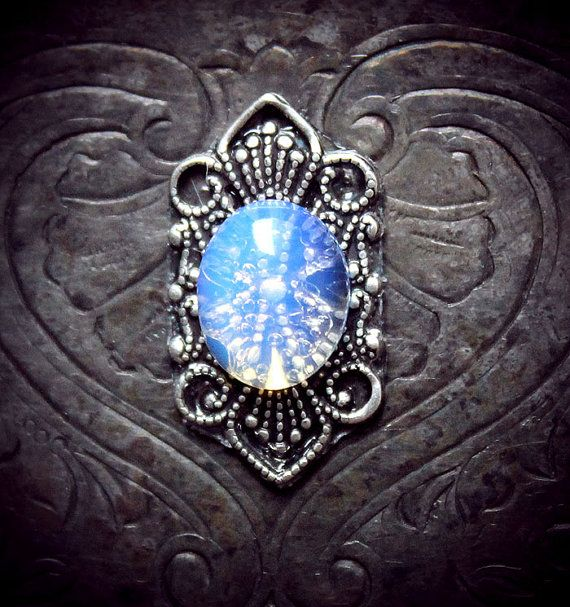Mermaid's Tear Bindi, moonstone, translucent, fairy, fae, magic, fantasy, elven, tribal fusion, third eye, bellydance, wicca, pagan, goddess