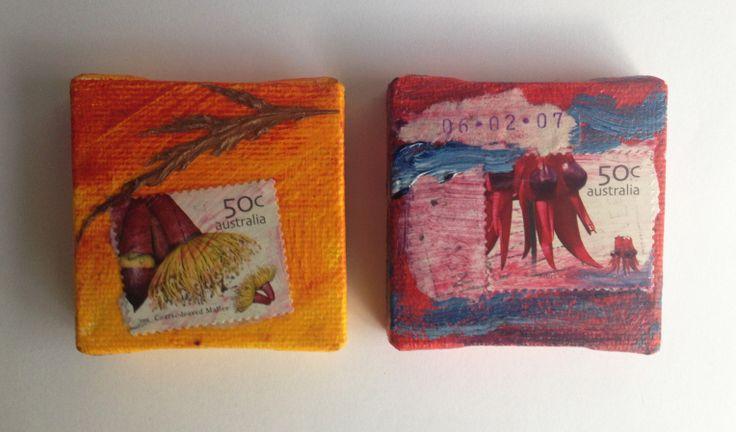 Australian tiny paintings