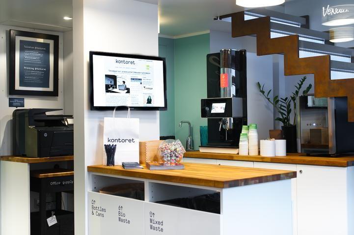 Kontoret Erottaja, Corporate Office: 1-6 hengen hyvin varusteltu työ- /pienkokoustila Helsingin ydinkeskustassa. https://venuu.fi/tilat/kontoret-erottaja-corporate-office #kokous #Helsinki