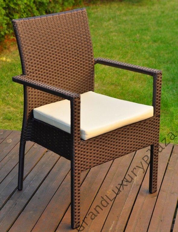 Krzesło ogrodowe z technorattanu VERONA