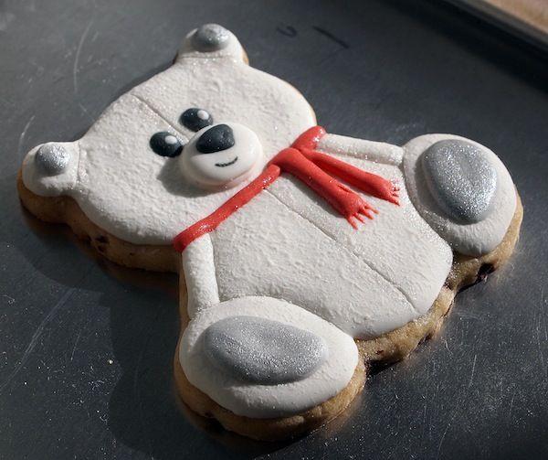Polar Teddy Bear Cookies | Make Me Cake Me