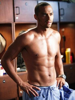 jesse williams from grey's anatomy. Wonder why they never gave him a Mc name? He's soooo hot :)