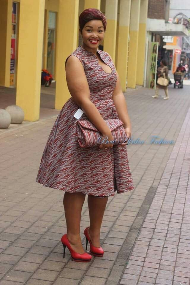 18 African Prints Styles For The Plus Size Woman – FashionGHANA.com  100%  African Fashion 9ed238ed482