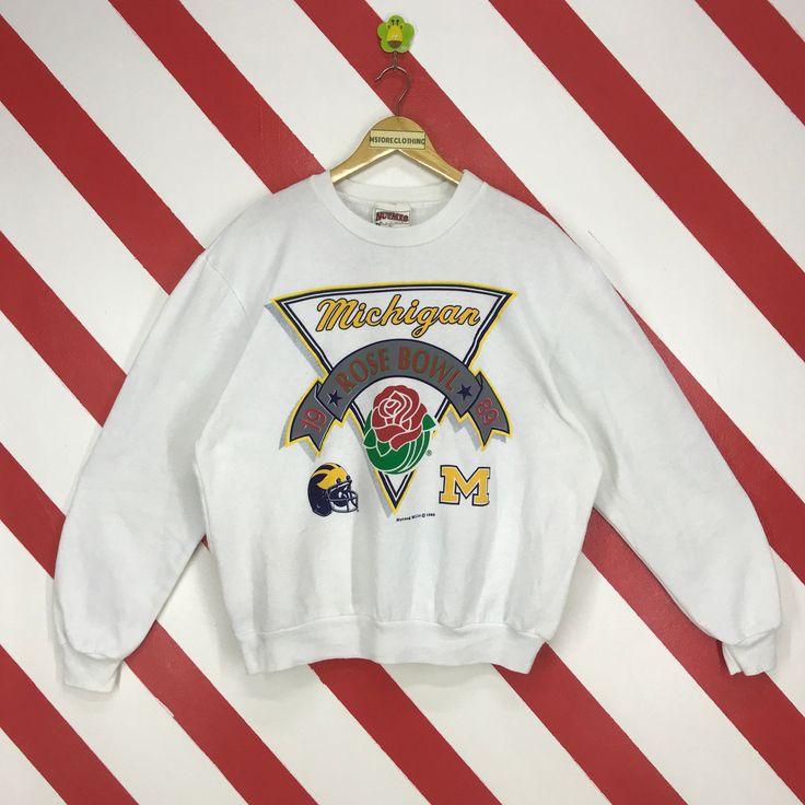 Vintage 80s Michigan Wolverines Sweatshirt Michigan