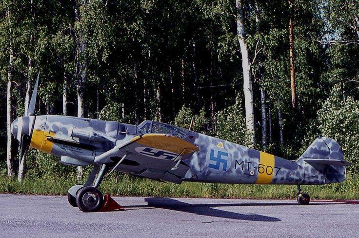 Finnish Messerschmitt Bf-109G-6