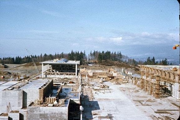 SFU early construction