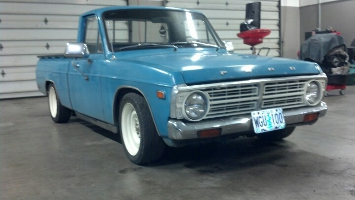76 ford courier!