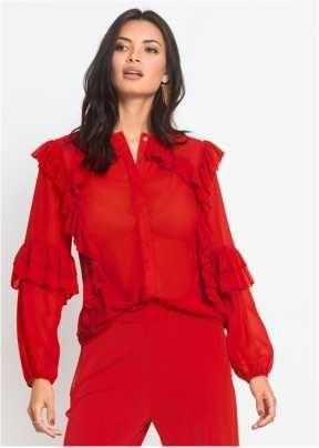 Dames blouses lange mouw online kopen | bonprix